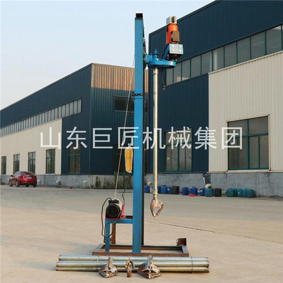 巨匠走量SJD-2A便携式电动打井机50米深圆盘打井机