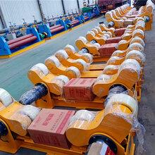 供应优质焊接滚轮架河南滚轮架厂家10吨焊接转台现货图片