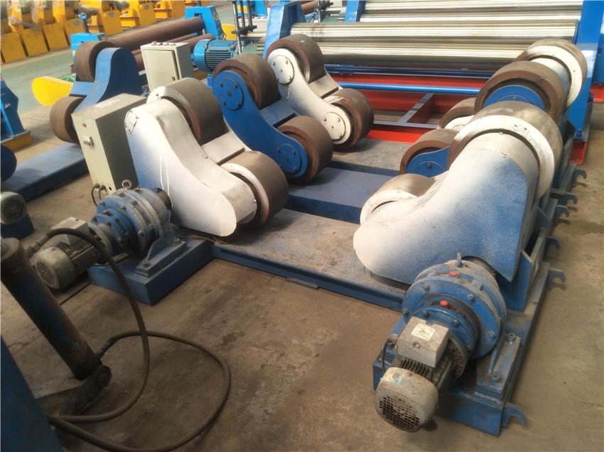 30吨滚轮架出租优质自调式滚轮架低价租赁焊接滚轮架整套出租