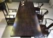 中式家具茶桌哪里的實木家具便宜黑檀木茶桌