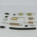 帶鉤現貨拉簧拉力拉伸彈簧線徑2.5mm外徑18mm長短齊全訂做彈簧