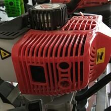单人便携手提式螺旋转坑机小型汽油掏桩机工程必备图片