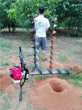 单人手提式果树打洞机荒地种植钻孔机器厂家直销图片