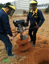 雷力多功能电线杆钻孔机小型植树打坑机打洞秒速图片