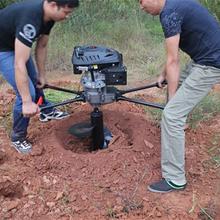 新款电线杆挖坑机多功能植树挖坑机价格优质小型挖坑机图片