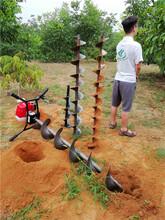 新型小型电线杆挖坑机多功能植树挖坑机图片