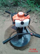 新款手提式小型多功能电线杆挖坑机价格经济又实用图片