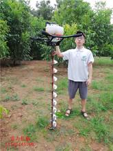农网改造专用电线杆钻孔机钻孔打洞就是快图片