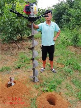 兰州市城关区工程必备螺旋钻坑机图片