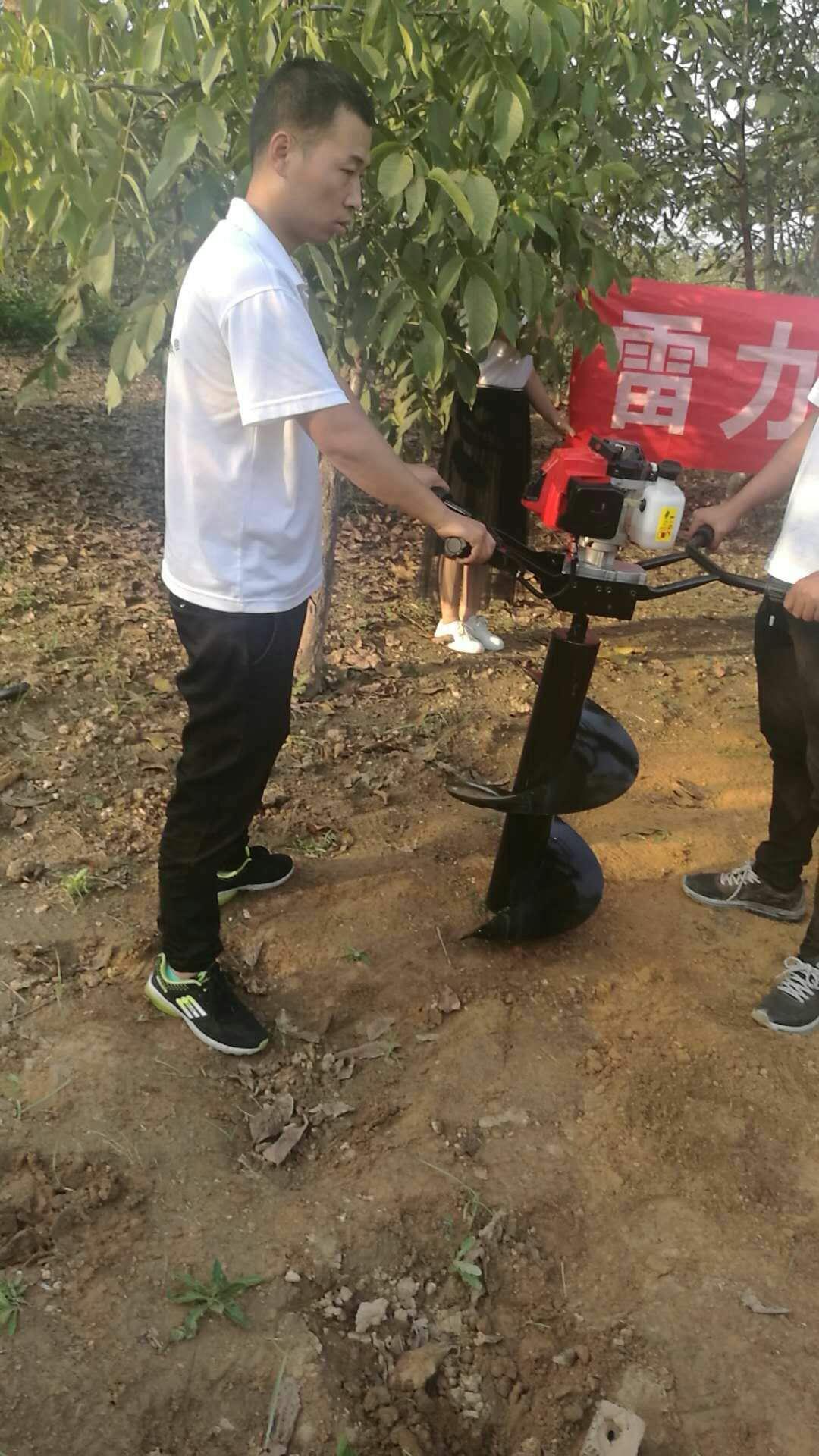 云南省保山市很好用立视频钻孔机电杆马斗图片