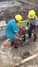 烧汽油版桩头取土机厂家首选雷力强推桩芯清理机图片