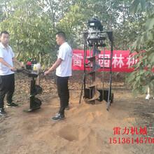 果农们认可的施肥必备工具栽树挖坑机图片