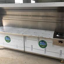 新疆大型不锈钢烧烤炉净化器排烟罩样式定做图片
