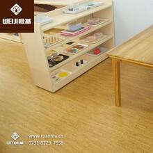 唯基粘贴式软木地板葡萄牙进口软木地板厂家直销图片