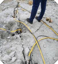 辽宁镁石矿液压劈裂棒使用说明书图片