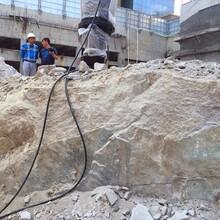 温州矿山开采裂石器液压分裂棒液压劈裂机每日报价图片