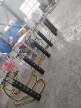 温州矿山开采裂石器液压分裂棒液压劈裂机供应商图片