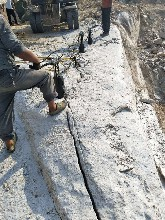 陕西开采轴岩液压劈裂棒一天多少方图片