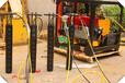 泉州露天巖石開采分裂機劈裂機脹裂機特點介紹效率高