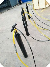 温州矿山开采裂石器液压分裂棒液压劈裂机招商图片