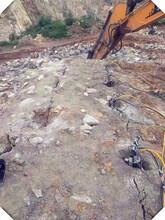 巴音郭楞开采轴岩超大型机载劈裂机一天多少方图片