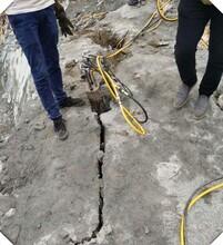 石家庄-订购开采液压岩石劈裂机劈裂机价格优惠图片
