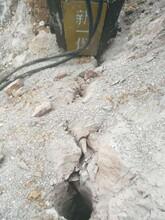 深圳混凝土破拆靜態液壓裂石機一天費用多少錢圖片