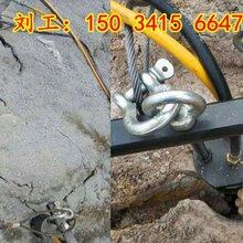 红河巷道洞采掘开裂岩石柱塞式90劈裂棒图片