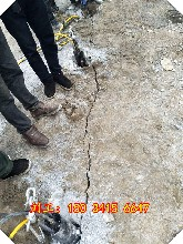 静态开采石头扩张器一方成本多少钱青冈县图片