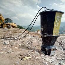 安徽挖机炮锤打不动液压劈裂机图片