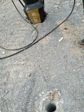 新型岩石工程静态放炮机械白塔现货价格图片