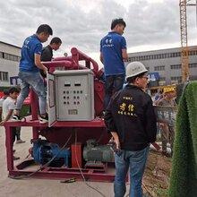 南寧市基樁工程泥漿分離機正在使用圖片