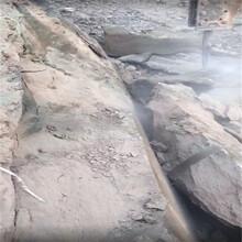 河北省隧道挖掘破堅硬石頭柱塞式液壓劈裂機圖片