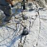 基坑地基开挖液压静态劈石机枣庄使用场地