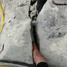 路基开石头开山液压分裂棒甘孜使用场地操作说明书