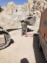 临汾市开石器石灰岩柱塞式液压劈裂机图片