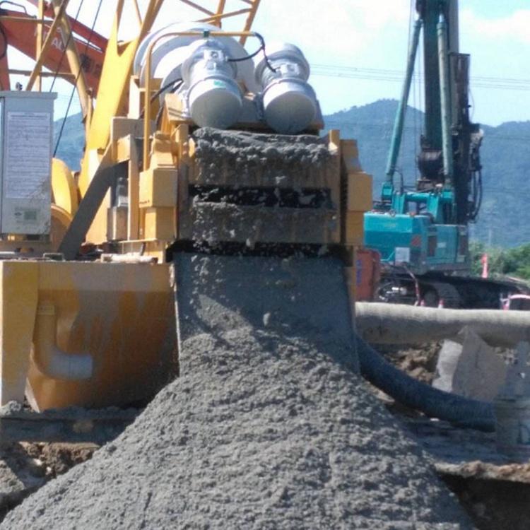 衢州全自动泥浆处理机器建筑泥浆分离器改善泥浆质量