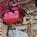 武威液压锯石机岩石锯石机大型圆盘锯的操作视频