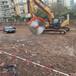 酒泉挖機改鋸石機挖掘機改裝巖石鋸的操作步驟