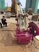 精钢石刀头液压挖改岩石锯永州施工视频