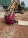 深圳巖石圓盤鋸挖掘機改裝到挖機上的鋸需要用挖機的油路嗎?