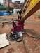 廈門巖石圓盤鋸挖掘機改裝到挖機上的鋸操作