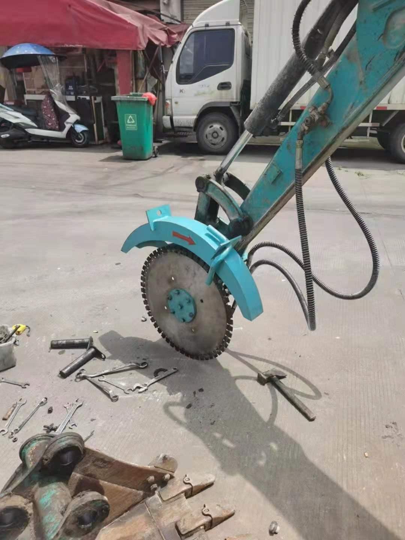 湖州市全新板材切割岩石锯挖掘机驱动岩石锯出厂价