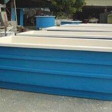 厂商批发定制玻璃钢养鱼池——大量生产质优价廉