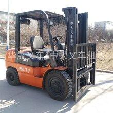 烟台大宇B30S电动叉车24V倒车防撞系统/倒车雷达安装使用