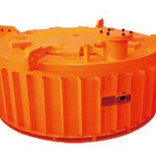 RBCDB防爆电磁圆盘除铁器煤矿井下隔爆电磁除铁器吸力大占用空间小图片