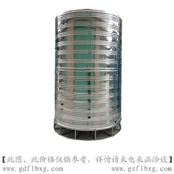 不锈钢立式冷水箱规格//304圆形水箱特点//不锈钢水塔方联供应商