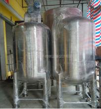 不锈钢搅拌罐生物发酵设备管道安装酵素罐