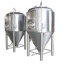 方联不锈钢容器设备果酒饮料生产设备-500L不锈钢发酵罐304移动罐
