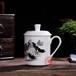 定制旅游紀念茶杯加二維碼